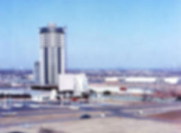 Founders Tower, mid 1960s [Okie Mod Squa