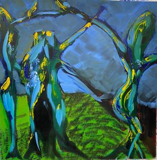 Dancing tree series - in progress