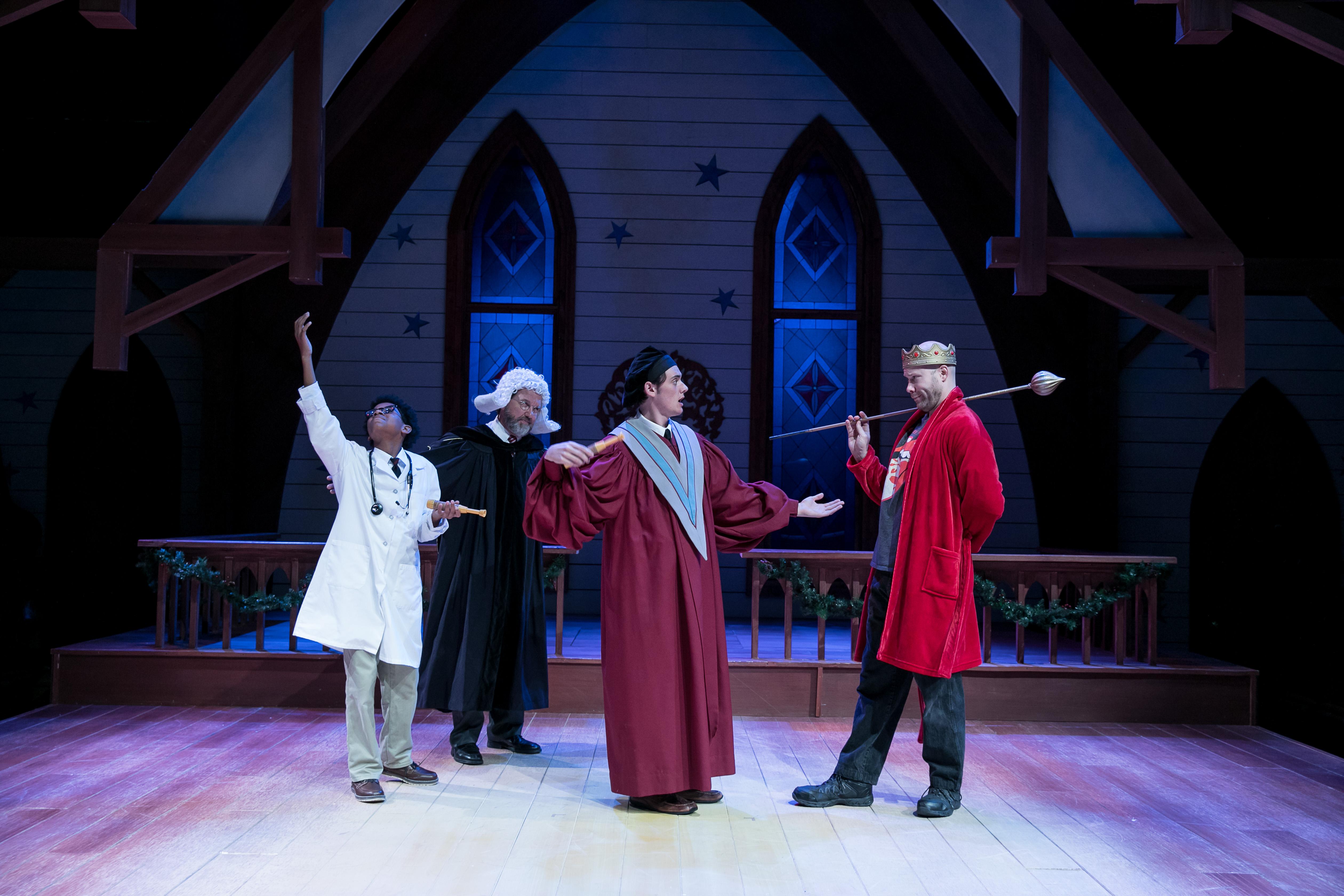 King Herod Encounters the Wise Men