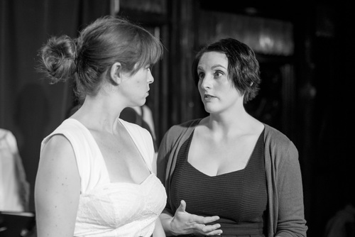 Julie and the actress playing her