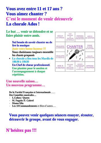 Chorale Paris le Marais