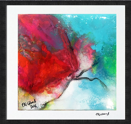 Pink Butterfly - Hand Signed Limited Edition Print