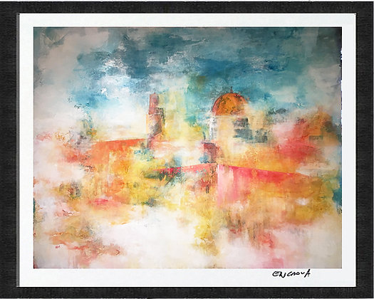 Jerusalem in Gold - Hand Signed Limited Edition Print