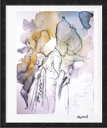 des raies de lumiere (2020) - Hand Signed Limited Edition Print