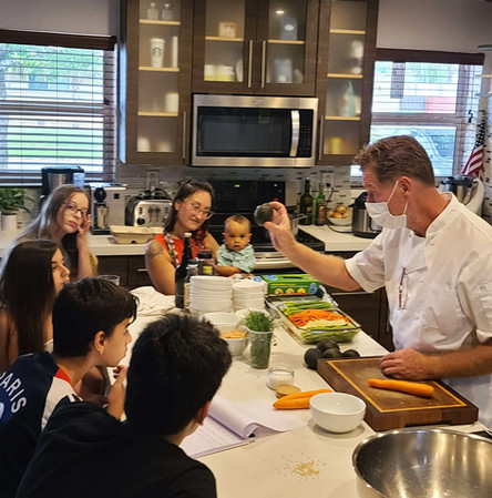 Cooking Class with Chef Patrick Verre