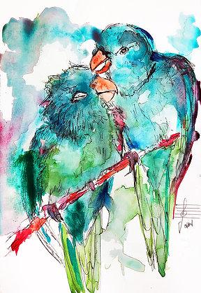 Love birds #2 (2020)