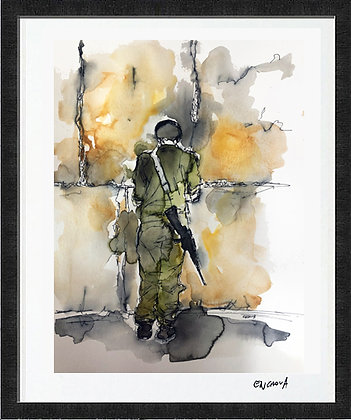 Soldier (2020) - Hand Signed Limited Edition Print