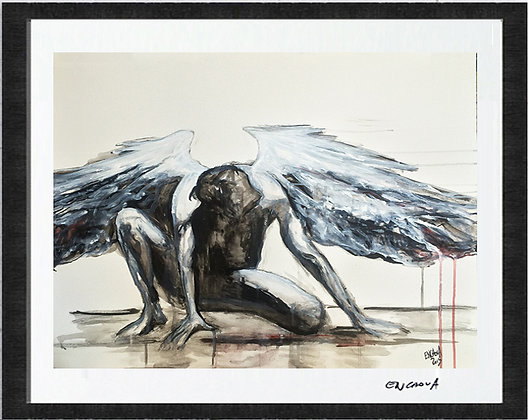 Gabriel - Hand Signed Limited Edition Print