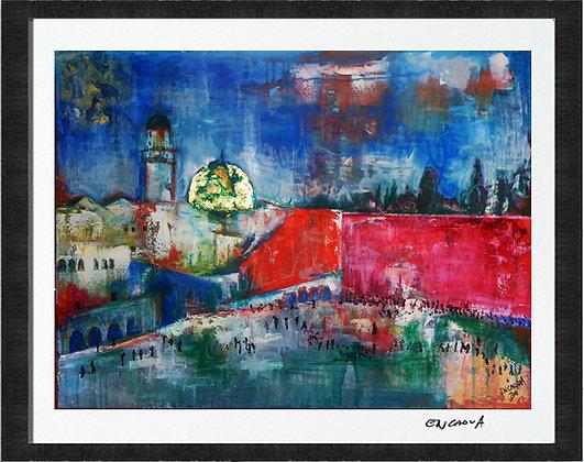 'O'Jerusalem' - Hand Signed Limited Edition Print