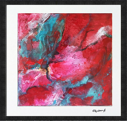 Red Butterfly - Hand Signed Limited Edition Print