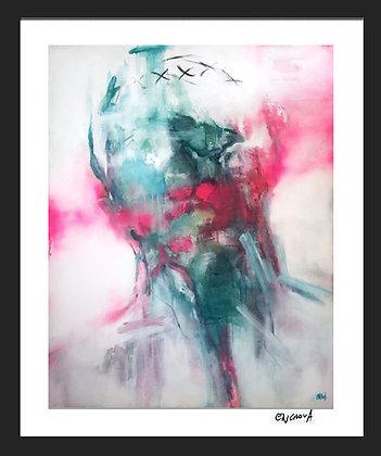 A fleur d'âme (2021) - Hand Signed Limited Edition Print