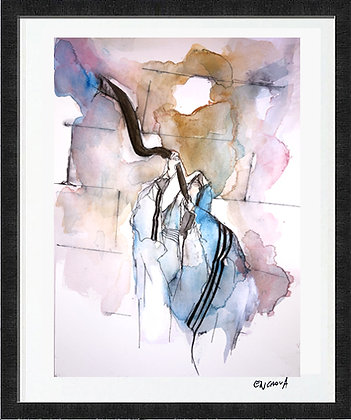 Shofar (2020) - Hand Signed Limited Edition Print