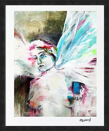 Jophiel - Hand Signed Limited Edition Print