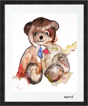 TEDDY - Hand Signed Limited Edition Print