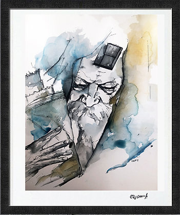 Rabbi (2020) - Hand Signed Limited Edition Print