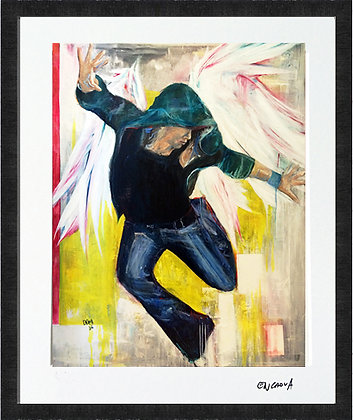 'Dancing V2.0' - Hand Signed Limited Edition Print