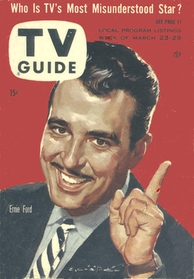 One of his four TV Guide covers - 1958