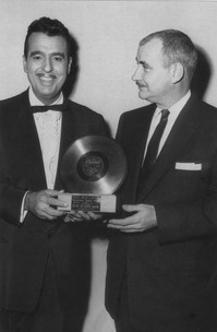 Capitol's first Gold LP Award from Lee Gillette