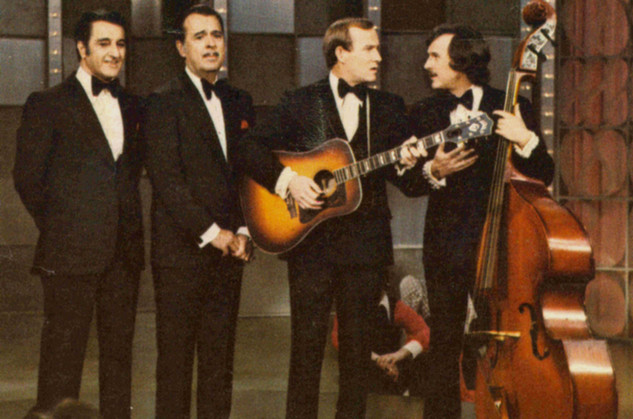 With Danny Thomas and The Smothers Brothers