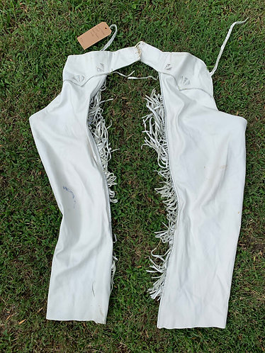 White Leather Chaps owned by Lynn Anderson