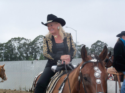 Lynn in her Grandmother's Parade Saddle