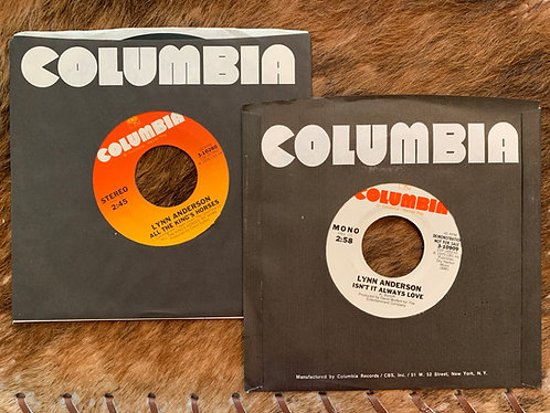 """COLUMBIA 45s """"All The King's Horses"""" """""""