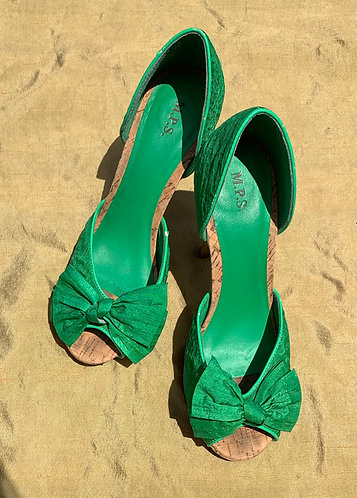Green Shoes worn by Lynn Anderson
