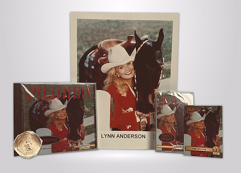 Cowboy's Sweetheart Collector's Set: CD CS 8x10 Card + Gold Sticker