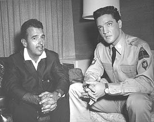 With Elvis on the set of G.I. Blues