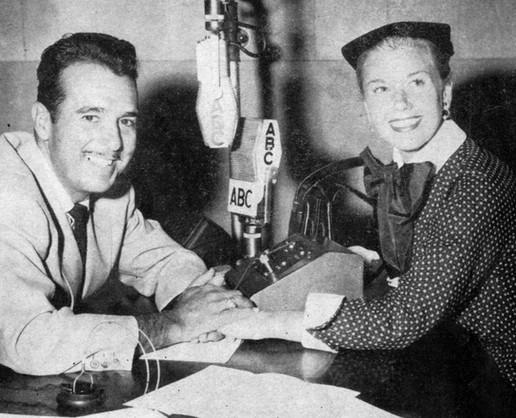 With Doris Day on ABC Radio