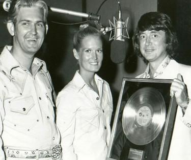 Glenn, Lynn and CBS exec Ron Bledsoe