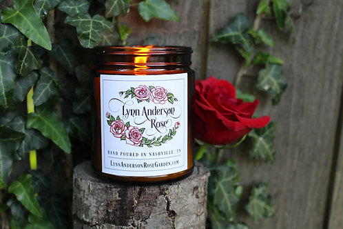 Lynn Anderson Rose Candle