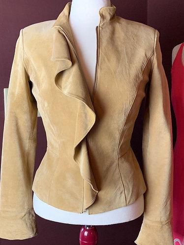 Leather Zippered Jacket