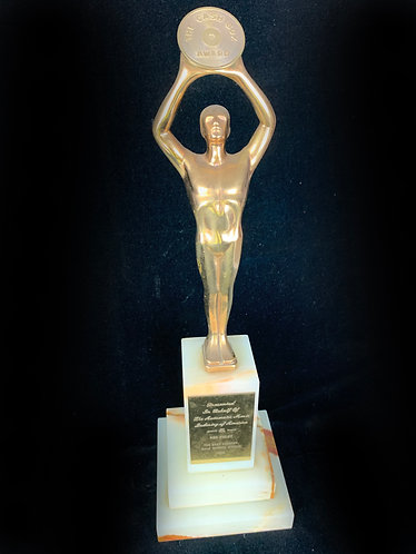 RED FOLEY Award from 1958 CASH BOX AWARD