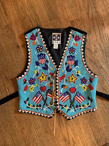 Rare Original Hairston Roberson ROPA Beaded Vest