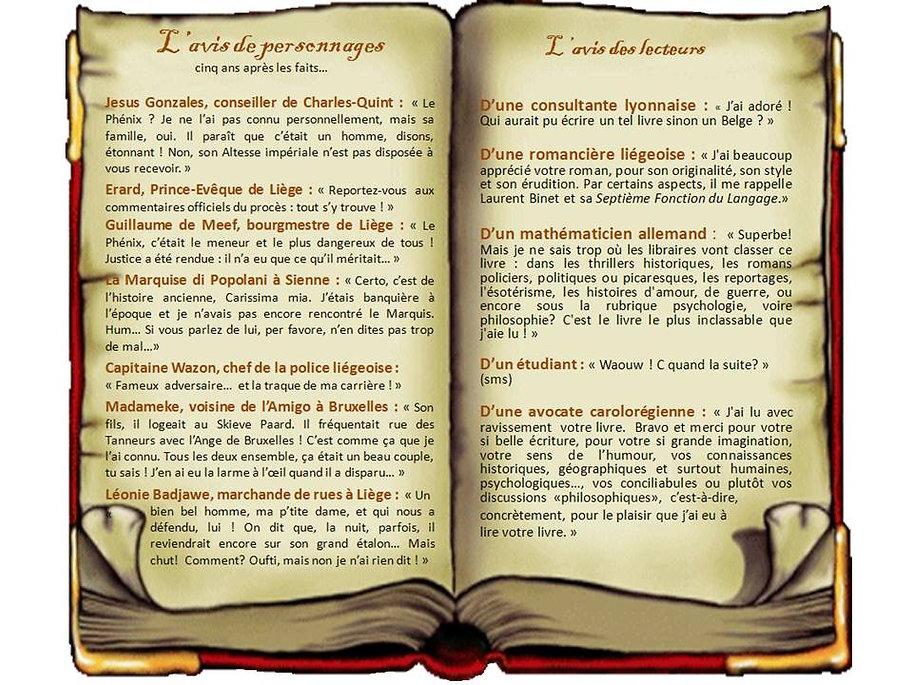 Témoignages lecteurs de 1531 - Liège