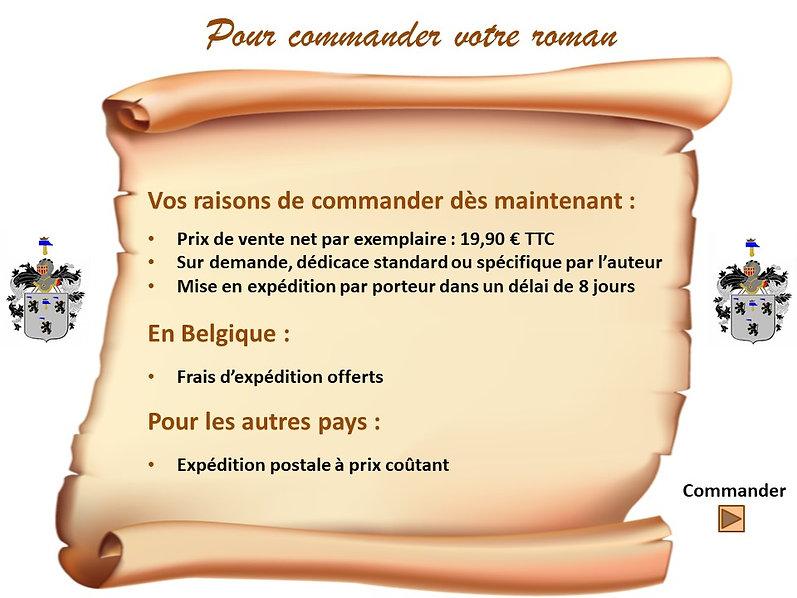 Commande du roman 1531 - Le Phénix
