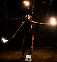 Wicked Woods 2019 Fire Show