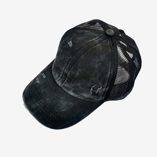 Kids Vintage Soft Top (Criss cross back)  -  Coal