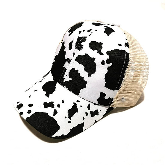 Cowgirl Ponytail Cap -Daisy