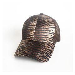 Dark Tiger Ponytail Cap