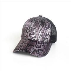 Snake Lace Ponytail Cap