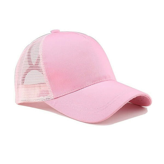 Youth Original Ponytail Cap -Baby Pink