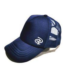Midnight Trucker Ponytail Cap