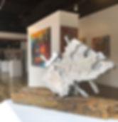 JOURNEY aluminium artist Martine Bachelart