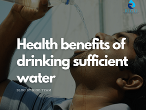 Health benefits of drinking sufficient water ?