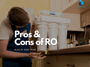 What are the pros and cons of drinking RO or Reverse Osmosis filtered water?