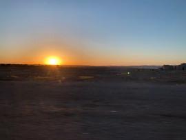 Morocco sunset