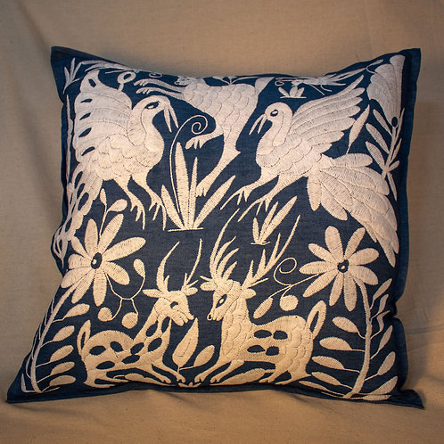 Nativa Embroidered Pillow Cover