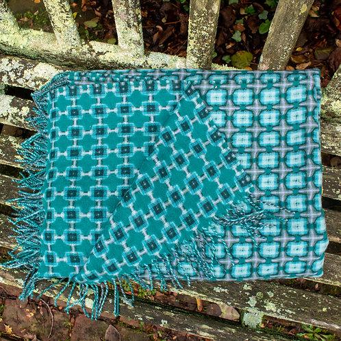 Paulette Rollo Basketweave Blanket